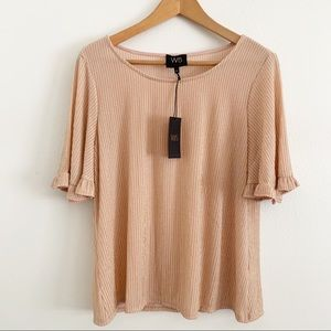 NWT W5 by Anthropologie short sleeve blouse